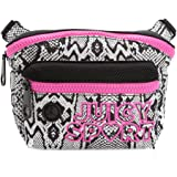 Juicy Couture Sport Python Nylon Crossbody Bag Purse