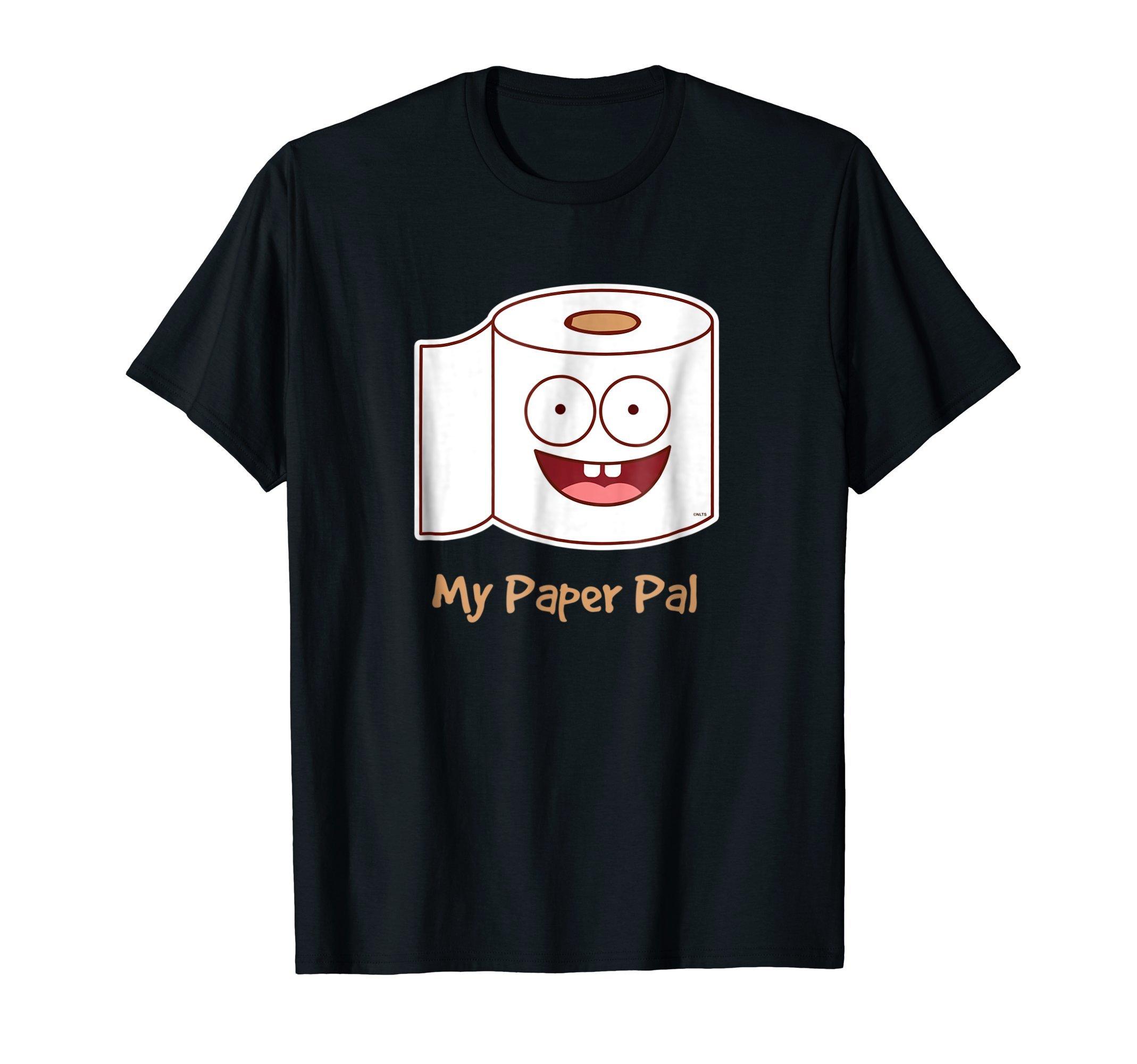 My-Paper-Pal-Humor-Funny-Toilet-Paper-T-Shirt-Tee-Shirt-gift