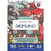 Bloco Desenho Liso 180 g/m² A-3 29,7 X 42 cm com 20 Folhas TRIDENT/FABRIANO