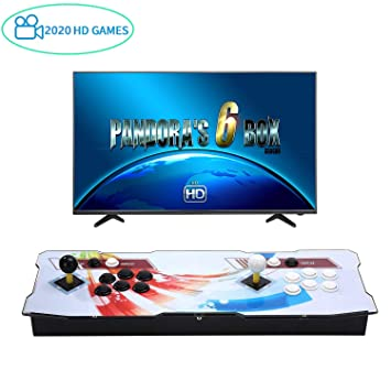 Amazon.es: Spmywin 2020 Juegos Retro Pandoras Box 6 Consola Portatil 1280x720 Full HD Maquina Arcade Retro Consolas Videojuegos CPU Avanzada Mini Arcade
