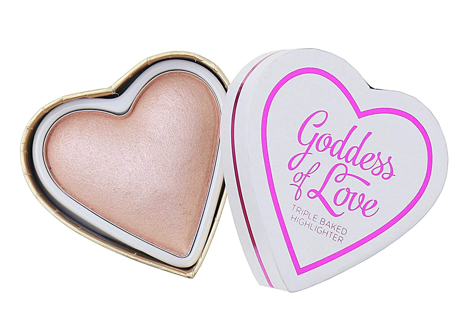 I Heart Makeup Blushing Hearts - Goddess of Love Highlighter: Amazon.co.uk: Beauty