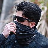 Elastic Seamless Moisture Wicking Neck Gaiter Headband Bandana Face Mask for Outdoor Sport