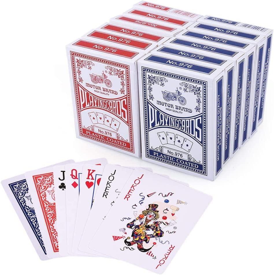 Brand New Deck of Professional Plastic Coated Playing Cards 52 cards per pack