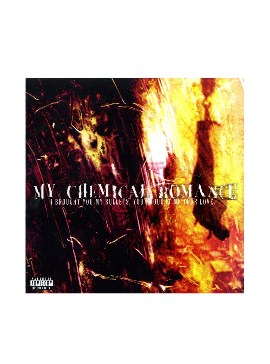 My Chemical Romance - I Brought You My Bullets, You Brought Me Your Love Vinyl LP Hot Topic Exclusive by Hot Topic (Image #1)