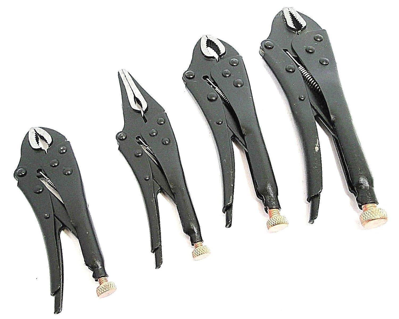 Toolzone 4 piezas De alta resistencia forjada y juego de alicates de presión: Amazon.es: Bricolaje y herramientas