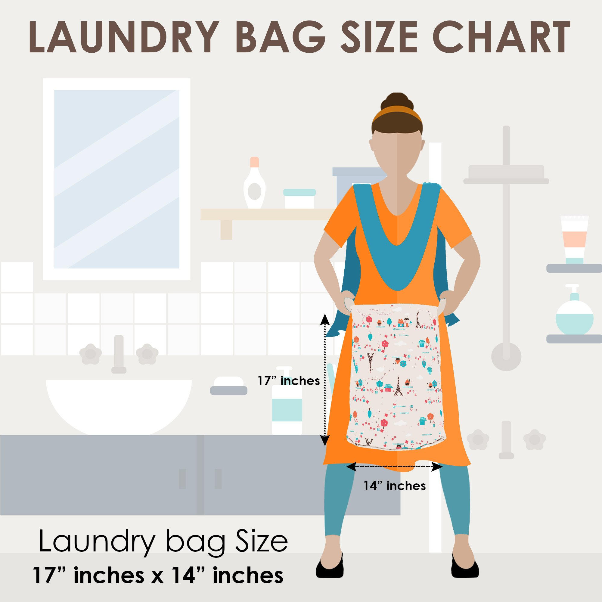 Amazonin Story At Home Laundry Bags