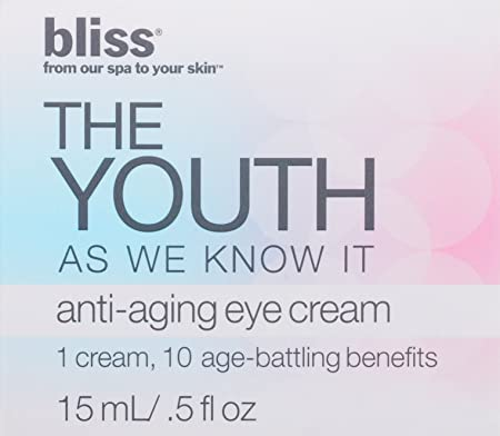 bliss The Youth As We Know It Anti-Aging Eye Cream, 0.5 fl. oz.