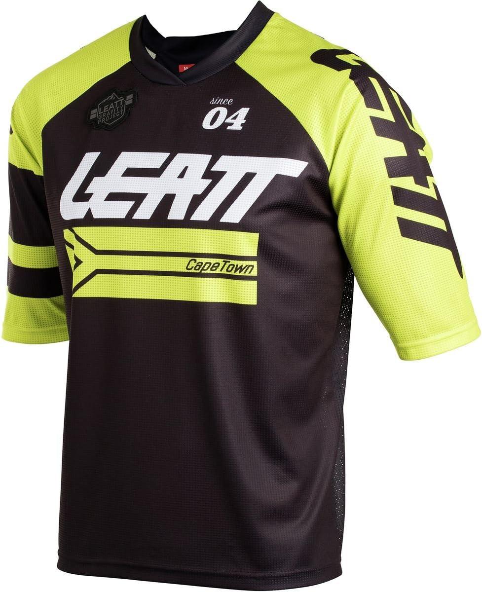 Leatt DBX 3.0 2018 Adult Bike Sports BMX Jersey Black//Lime//X-Small