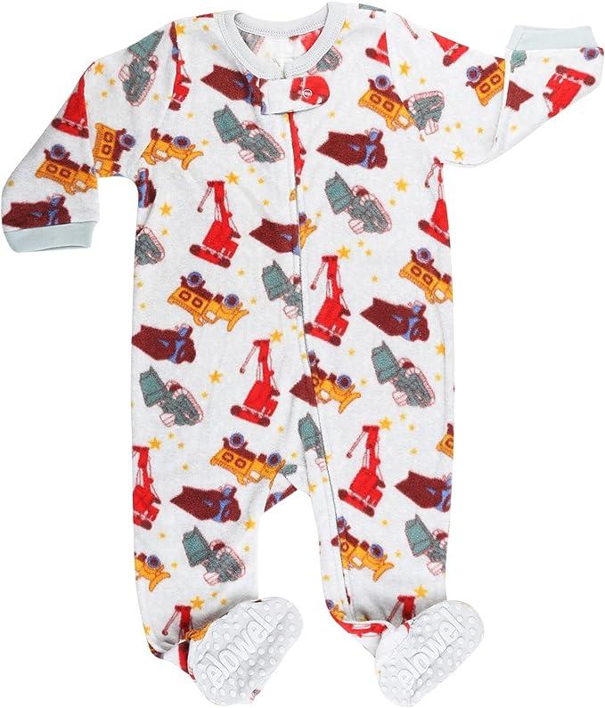 elowel Pijama Ninos Pijama De Pie 100/% Poli/éster Ropa De Dormir De Lana Caliente| 1 Pieza 2-5 Anos C/álido Y Tierno M/últiples Disenos Y Colores 12-18m 18-24 M Tamanos Disponibles: 6m