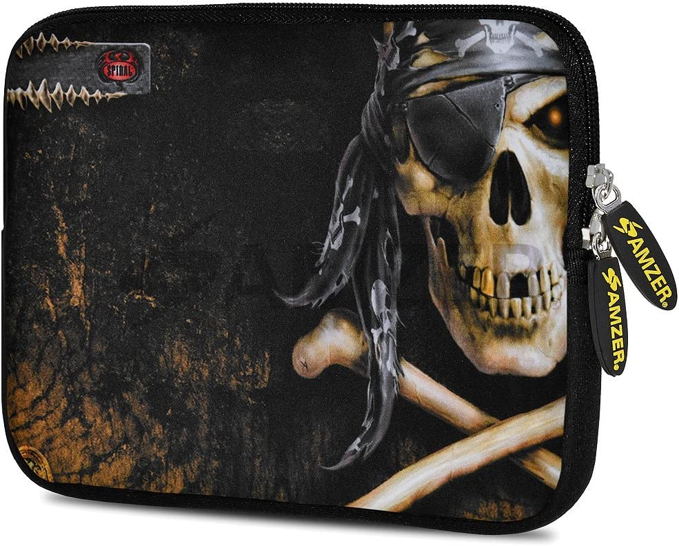 Amzer 10.5-Inch Designer Neoprene Sleeve Case Pouch for Tablet, eBook and Netbook - Pirate (AMZ5043105)