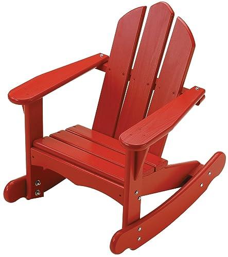 Little Colorado Child s Adirondack Rocking Chair- Unfinished