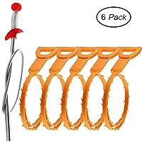 Deals on 6-PK Cooper GTV Drain Snake Clog Remover Drain Snake