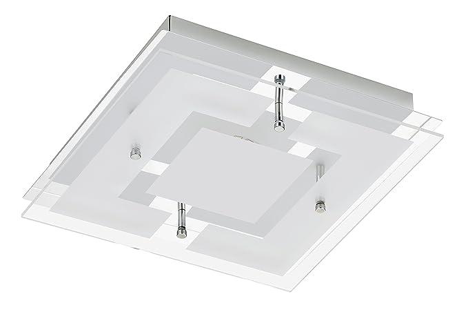 Plafoniere Con Lampadina A Vista : Trango ip moderno luce da bagno a led plafoniera lampada