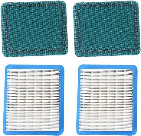 Stratton 491588 Quantum Briggs 399959 2 x Luftfilter 491588S