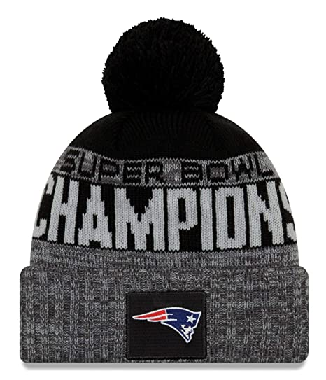 77cc013d7b25f Image Unavailable. Image not available for. Color  New Era New England  Patriots Super Bowl LIII Champions Parade Knit Hat ...