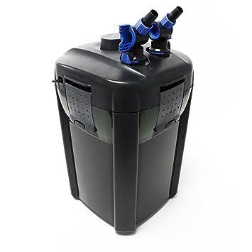 Jebao tipo 204 Acuario exterior filtro 1200L/H 4 niveles con filtro material: Amazon.es: Productos para mascotas