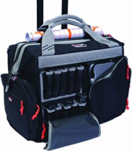 G.P.S. 2215RB Rolling Range Bag, Black