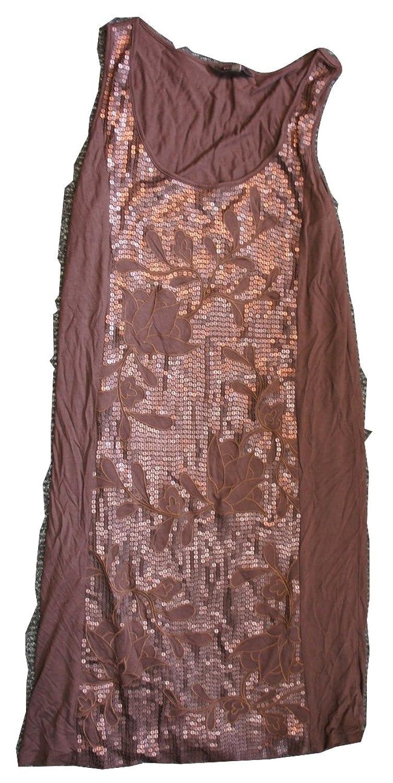 Phase EightDamen Kleid, Einfarbig Braun Chocolate Brown