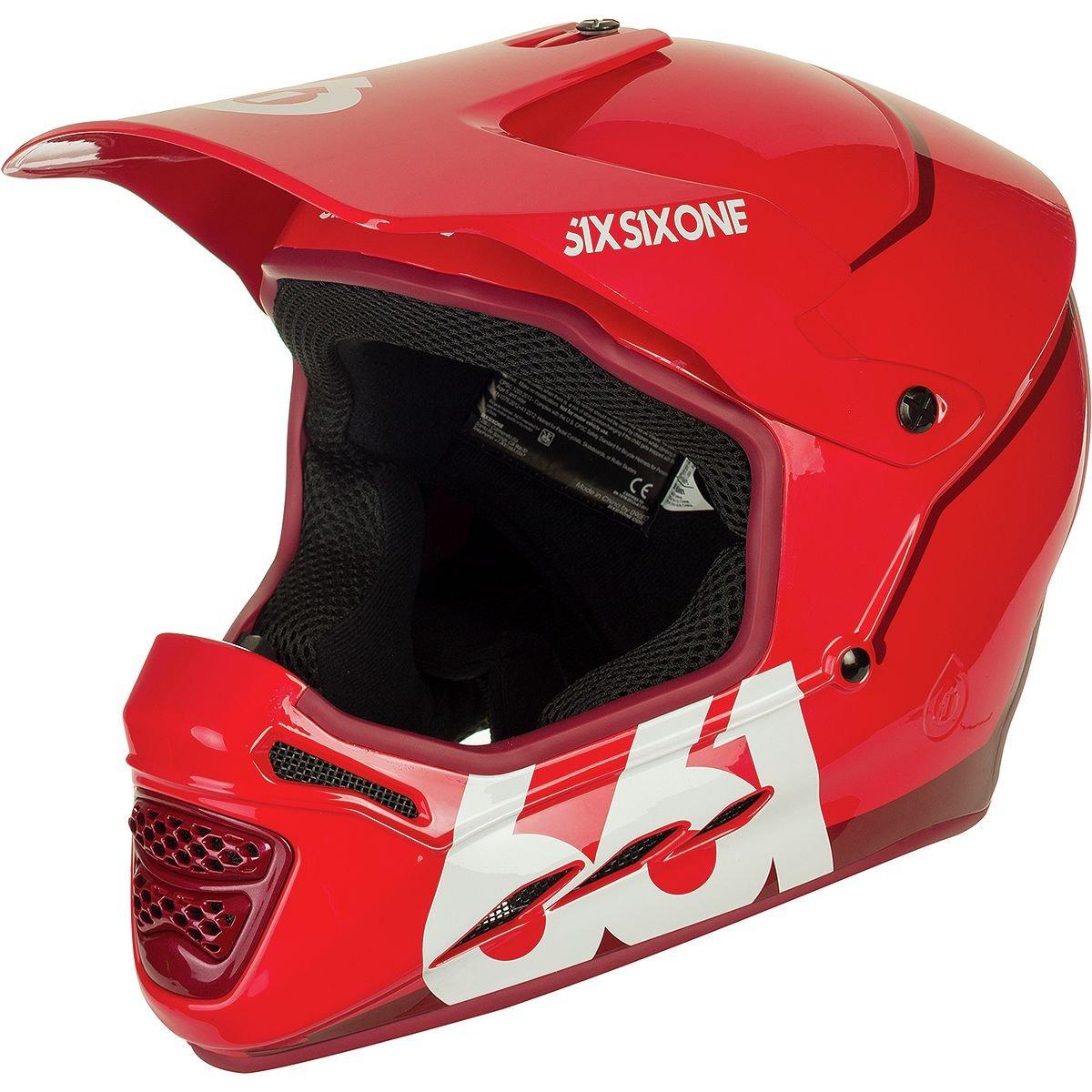 SixSixOne Tundra White 2018 Reset MTB Full Face Helmet Six Six One