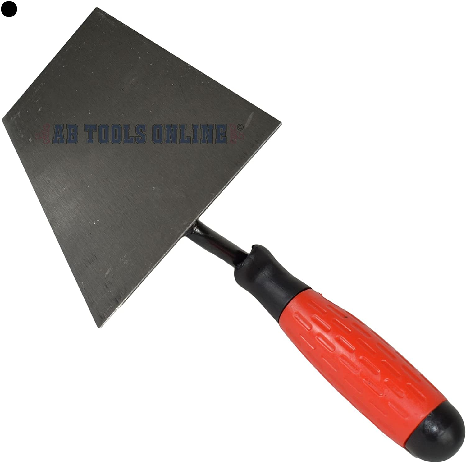 180mm Long Bucket Trowel Brick Block Laying with Rubber Soft Grip Handle