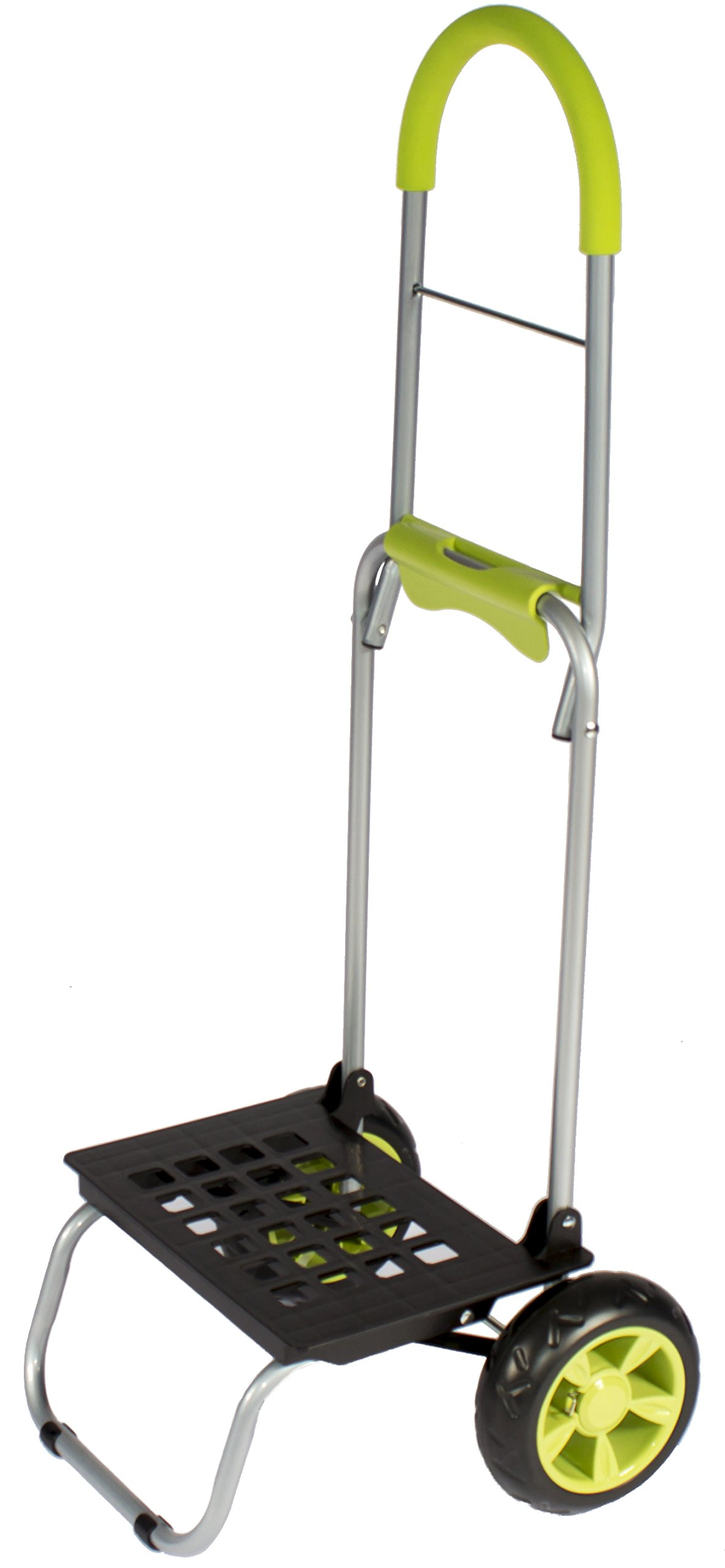Mighty Max Personal Dolly, Lime Green Handtruck Hardware Garden Utilty Cart
