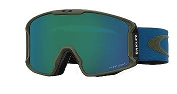 large goggles  Amazon.com : Oakley Men\u0027s Line Miner Snow Goggles, ArmyGrn ...