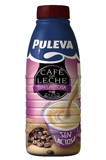Puleva Mañanas Ligeras Café con Leche sin Lactosa - Pack de 6 x 1 L