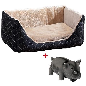 Cama para perros + juguete perro cesta perros sofá cojín de perros ~ cf1872 - 2 1484: Amazon.es: Productos para mascotas