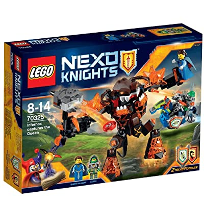 LEGO Nexo Knights - 70325 Infernox Captures the Queen Building Set: Toys & Games