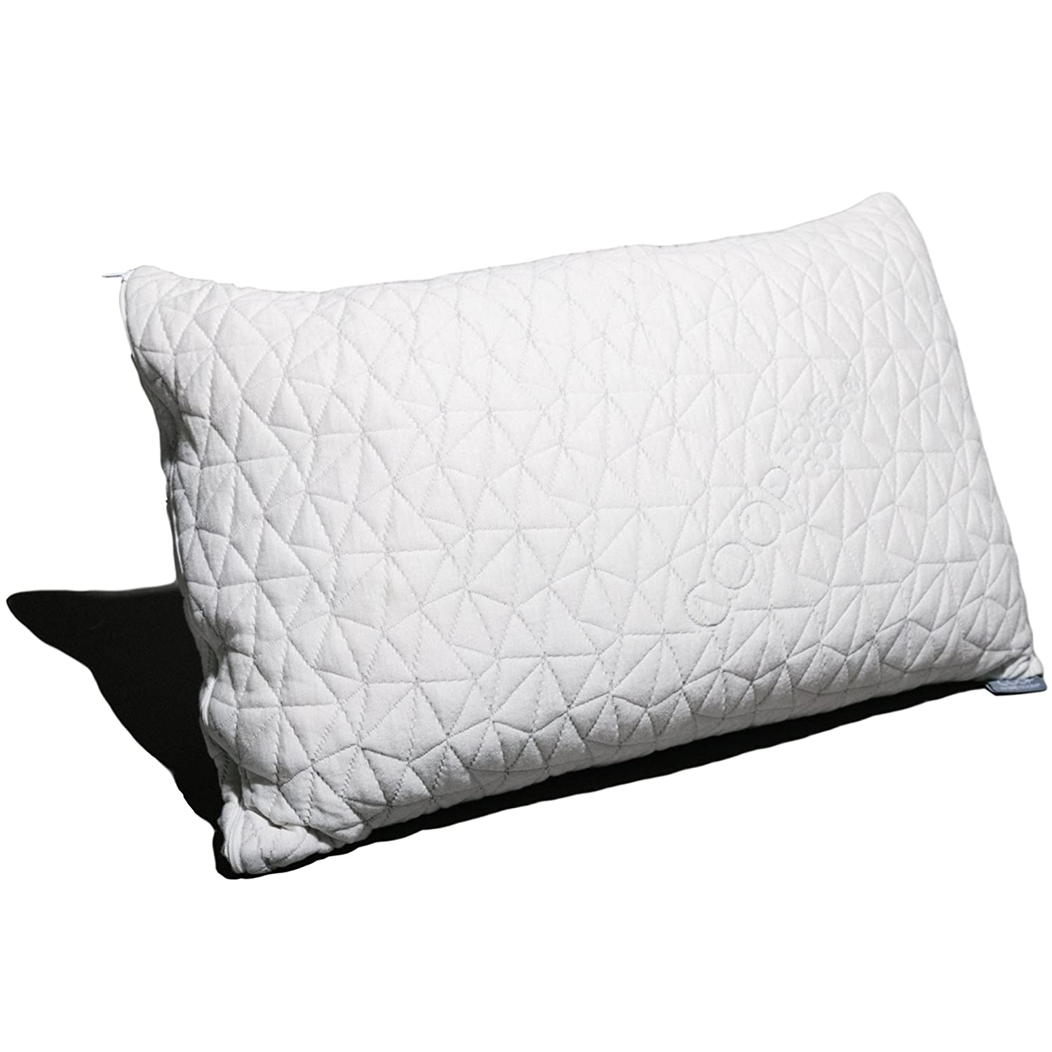 BEST SELLER - Amazon.com -  TWO Coop Home Goods QUEEN Size Shredded Hypoallergenic Memory Foam Pillows