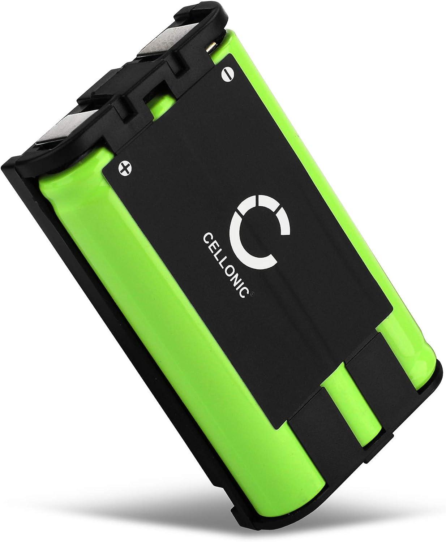 CELLONIC® Batería Premium Compatible con Panasonic KX-TG5431, TG5432, TG5439, TG5453, TG5471, TG5571 (850mAh) HHR-P104,Type 29 bateria de Repuesto, Pila reemplazo, sustitución