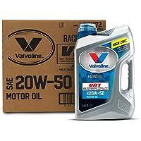 $70 » Valvoline VR1 Racing SAE 20W-50 Motor Oil 5 QT, Case of 3
