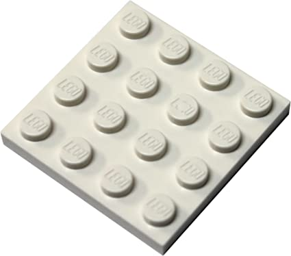 NEW LEGO White plate x 50-1x2 1 x 2 PLATES