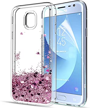 LeYi Compatible with Funda Samsung Galaxy J3 2017 con HD ...