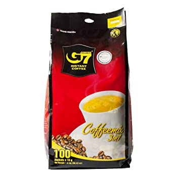 Trung Nguyen G7 3 In 1 Instant Coffee Vietnamese Coffee Brand