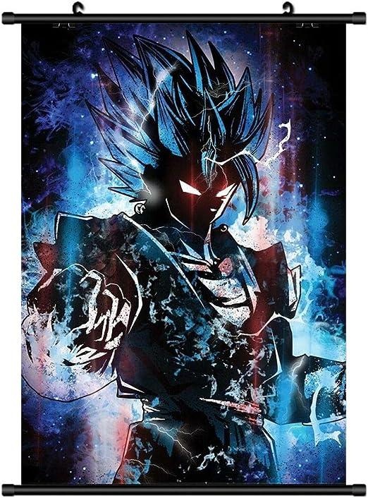 Son Goku DRAGON BALL  Anime Wall Poster Scroll Cosplay