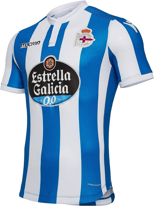 Macron Home Jersey Deportivo Royal/White 18/19 Deportivo La Coruna ...