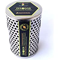 Aromakrafts Non Electric Coconut Shell Activated Charcoal Natural Air Purifier, Deodorizer (300 gms.) for Car, Washroom, Kitchen, Refrigerator, Closet, Pet Areas - ZERODOR