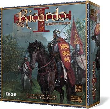 Ricardo Corazón de León Juego de Mesa (Edge Entertainment): Amazon.es: Juguetes y juegos