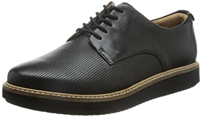 Clarks Glick Darby Women's Shoes, Black - Schwarz (Black Leather), ...