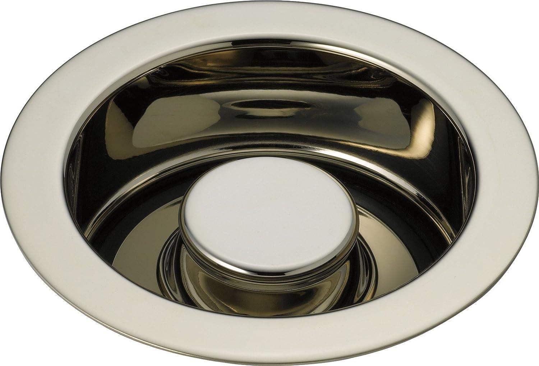 Delta Faucet 72030-PN Kitchen Disposal & Flange Stopper, Polished Nickel