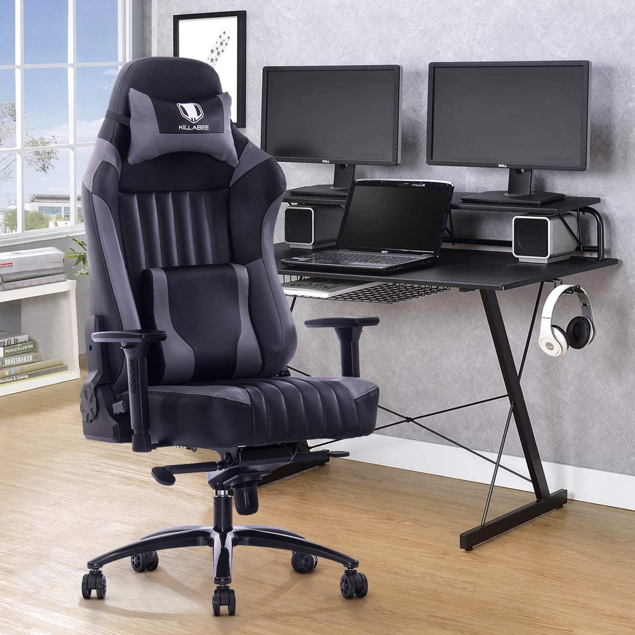 KILLABEE Adjustable Gaming Chair Review