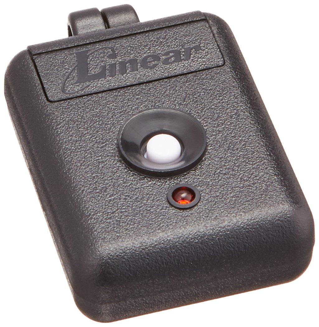 Linear MINI-T Delta 3 Miniature 1 Channel Key Ring Transmitter, Black/White