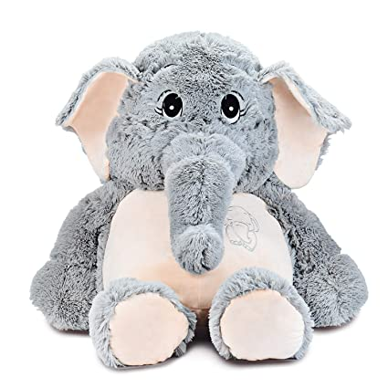 Ikasa 100Cm Elefante Juguete De Peluche Encantador...