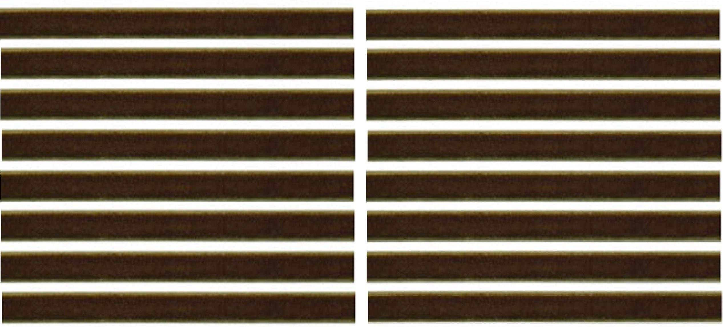 Olive Green Replacement Cleaning Strips (16-Pack) VPI Okki Nokki 3M LP Vinyl Record Album