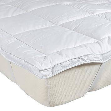 Homescapes 100% Pura Seda de Morera Blend Protector de colchón para colchones de hasta 36
