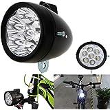Vintage Retro Bicycle Bike Front Light Lamp 7 LED Fixie Headlight with Bracket