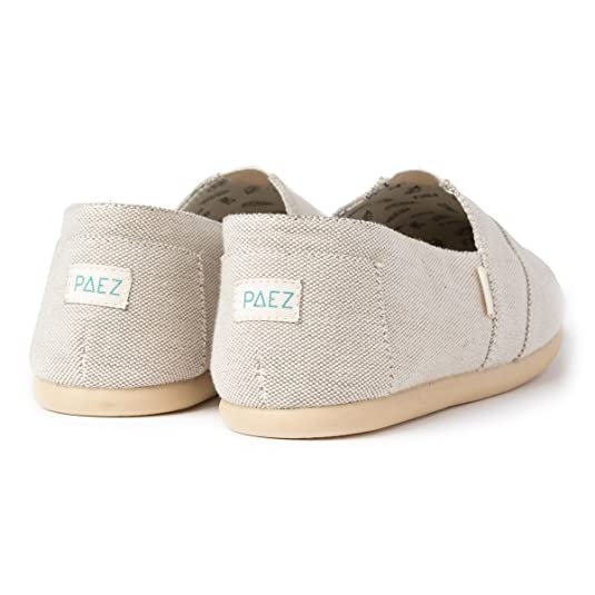 Amazon.com | PAEZ Original - Classic, Mens Espadrilles Espadrilles, Brown (Sand 203), 7.5 UK (41 EU) | Slippers