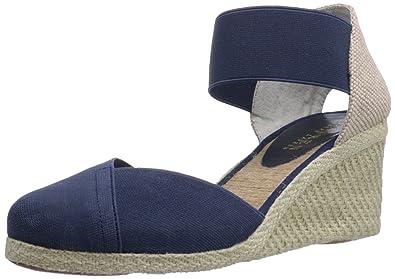 dfc39bbba5cf Lauren Ralph Lauren Women s Charla Wedge Sandal
