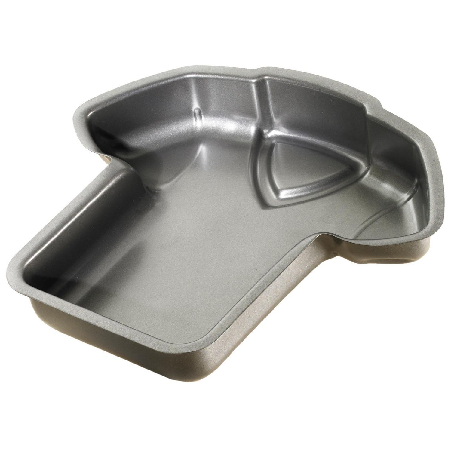Birkmann 214118 Football Top Baking Tin with High Quality Non-Stick Coating 28 x 29 x 5.5 cm approx. 2600 ml RBV Birkmann